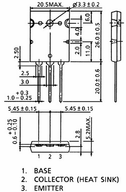 2sa1943 circuit diagram